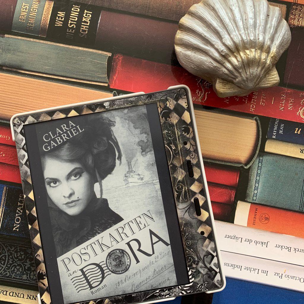 Postkarten an Dora von Clara Gabriel
